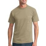 Heavyweight Blend 50/50 Cotton/Poly Pocket T Shirt