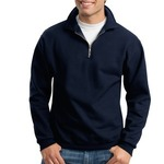 Super Sweats® 1/4 Zip Sweatshirt with Cadet Collar