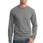 Heavyweight Blend 50/50 Cotton/Poly Long Sleeve T Shirt